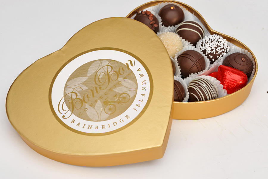 Give the gift of Bon Bons signature golden box of truffles this valentines day!
