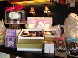 Buy Easter candy and chocolates at Bon Bon Cadny Store Bainbridge Island